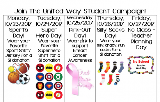 United Way student Campaign