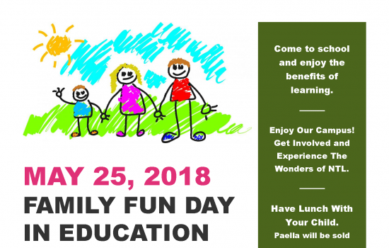 FAMILY FUN DAY IN EDUCATION