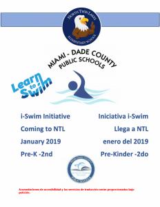 iSwim Flyer SPANISH